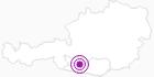 Accommodation Bauernhof Oberlercher at the Lake Millstatt: Position on map