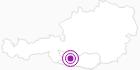 Accommodation Gasthof Scherzer at the Lake Millstatt: Position on map