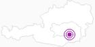 Unterkunft Sporthotel - Restaurant Glockenhof in Süd & West Steiermark: Position auf der Karte
