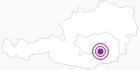 Unterkunft Hotel Bergwirt in Süd & West Steiermark: Position auf der Karte