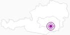 Unterkunft Frühstückshotel Jammernegg in Süd & West Steiermark: Position auf der Karte