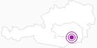 Unterkunft Baderbauer Wipfler in Region Graz: Position auf der Karte