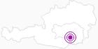 Unterkunft Alpenhof Tilzwirt in Region Graz: Position auf der Karte
