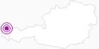 Unterkunft Raid Sabine im Bregenzerwald: Position auf der Karte