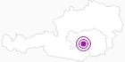 Accommodation Frühstückspension Koschier in South & West Styria: Position on map