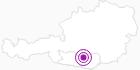 Unterkunft Ferienhaus Hechtel in der Region Nockberge Bad Kleinkirchheim: Position auf der Karte