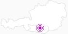 Unterkunft Gasthof Surtmann in Hohe Tauern - die Nationalpark-Region in Kärnten: Position auf der Karte