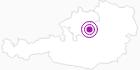 Unterkunft Cafe Arkade im Nationalpark Kalkalpen: Position auf der Karte