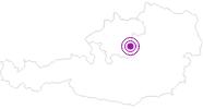 Unterkunft Cafe-Restaurant Petermühle im Nationalpark Kalkalpen: Position auf der Karte