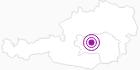 Accommodation Stocker Gudrun in the Murtal Holiday Region: Position on map