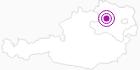 Unterkunft Ferienwohnung Helga Bergkirchner im Waldviertel: Position auf der Karte