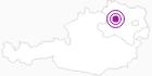 Unterkunft Weinbau Ferienwohnung Helmut u. Elfriede Piewald im Waldviertel: Position auf der Karte