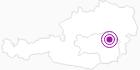 Unterkunft Haus Täubl in der Hochsteiermark: Position auf der Karte