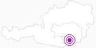Unterkunft Ferienhaus Hirt in Region Graz: Position auf der Karte