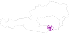 Unterkunft Alpengasthof Koralpenblick in Region Graz: Position auf der Karte