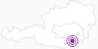 Unterkunft Moserjosl Kügerl in Region Graz: Position auf der Karte