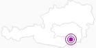 Unterkunft Weinbauernhof Herk Gertraud in Region Graz: Position auf der Karte