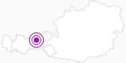 Unterkunft Ferienwohnung Penz in der Silberregion Karwendel: Position auf der Karte