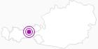 Unterkunft Kellerjochhütte in der Silberregion Karwendel: Position auf der Karte