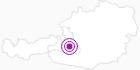 Webcam Grafenberg - Wagrain in der Salzburger Sportwelt: Position auf der Karte