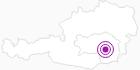 Unterkunft ARBOTEL Arbeiterhotel in Region Graz: Position auf der Karte