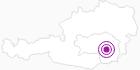 Unterkunft Gasthof Weißeggerhof in Region Graz: Position auf der Karte