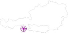 Unterkunft Apres Skiarena Ofenstub´n im Lavanttal: Position auf der Karte