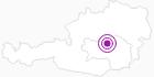 Unterkunft Gästehaus Zarzer in der Hochsteiermark: Position auf der Karte