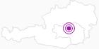 Unterkunft JUFA-Gästehaus Eisenerz in der Hochsteiermark: Position auf der Karte