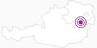 Unterkunft Landgasthof Hausmann in den Wiener Alpen in Niederösterreich: Position auf der Karte