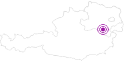 Unterkunft Haus Lenz Ferienwohnungen in den Wiener Alpen in Niederösterreich: Position auf der Karte