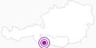 Unterkunft Bauernhof Bischof in Nassfeld-Pressegger See - Lesachtal - Weissensee: Position auf der Karte