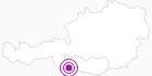 Unterkunft Gasthof - Pension Lamprechtbauer in Nassfeld-Pressegger See - Lesachtal - Weissensee: Position auf der Karte
