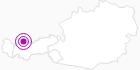 Unterkunft Pension Waldrast in der Naturparkregion Reutte: Position auf der Karte