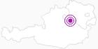 Unterkunft Hochalm Familie Martina & Norbert Heigl im Mostviertel: Position auf der Karte