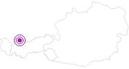 Unterkunft Haus Dreer in der Naturparkregion Reutte: Position auf der Karte
