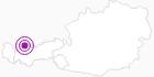 Unterkunft Haus Strigl in der Naturparkregion Reutte: Position auf der Karte