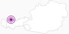 Unterkunft Fewo Kolibri in der Naturparkregion Reutte: Position auf der Karte
