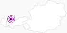 Unterkunft Ferienhaus Ehrenberg in der Naturparkregion Reutte: Position auf der Karte