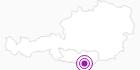 Unterkunft Bergrestaurant Siebenhütten am Klopeiner See - Südkärnten: Position auf der Karte