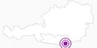 Unterkunft Sonnencamp Hotel und Camping Pirkdorfer See am Klopeiner See - Südkärnten: Position auf der Karte