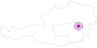 Unterkunft Bauernhof Lammer in Region Graz: Position auf der Karte