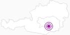 Webcam Skigebiet Salzstiegl Moasterhaus in der Urlaubsregion Murtal: Position auf der Karte