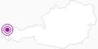 Unterkunft Schettereggerhof im Bregenzerwald: Position auf der Karte