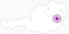 Unterkunft Gasthaus und Schilifte am Feistritzsattel in den Wiener Alpen in Niederösterreich: Position auf der Karte