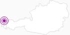 Unterkunft Hotel Gasthof zum Löwen im Bregenzerwald: Position auf der Karte