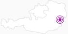 Unterkunft Partyhaus Cabrio im Mühlviertel: Position auf der Karte