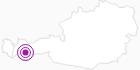 Accommodation Dornbirner Hütte in the Bregenz Forest: Position on map