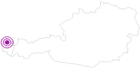 Unterkunft Ferienhaus Peter im Bregenzerwald: Position auf der Karte