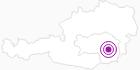 Unterkunft Privatzimmer Haus Gisser in Region Graz: Position auf der Karte